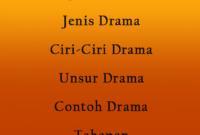 Apa Yang Dimaksud Dengan Drama