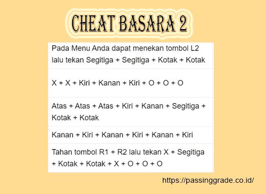 Cheat Basara 2
