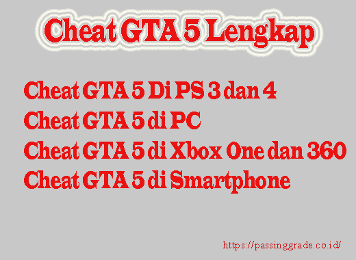 Cheat GTA 5