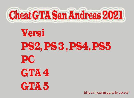 Cheat GTA San Andreas
