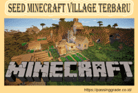 Seed Minecraft Village Terbaru