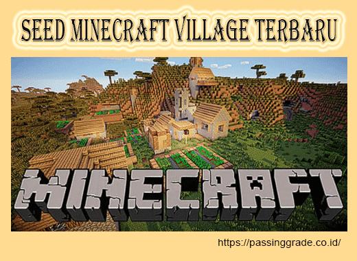 Seed Minecraft Village Terbaru