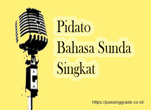 Pidato Bahasa Sunda Singkat