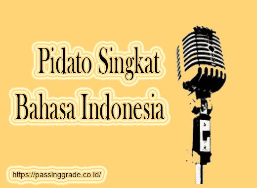 Pidato Singkat Bahasa Indonesia