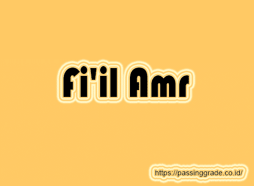 Fi'il Amr