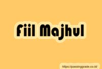 Fiil Majhul