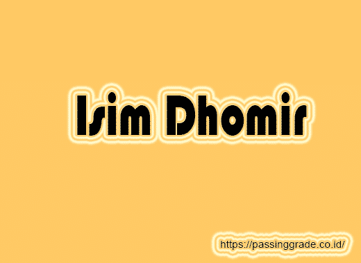 Isim Dhomir