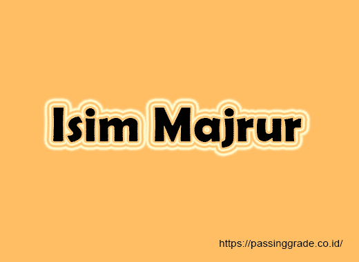 Isim Majrur