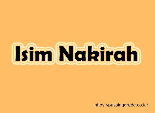 Isim Nakirah