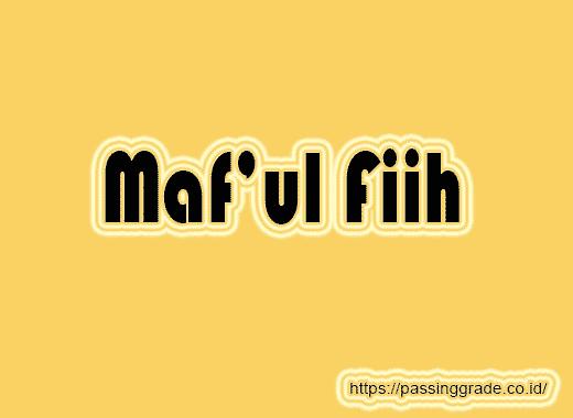 Maf'ul Fiih