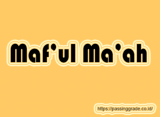 Maf'ul Ma'ah