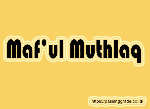 Maf'ul Muthlaq