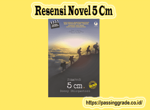 Resensi Novel 5 Cm