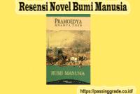 Resensi Novel Bumi Manusia