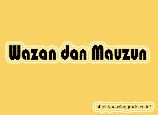 Wazan dan Mauzun