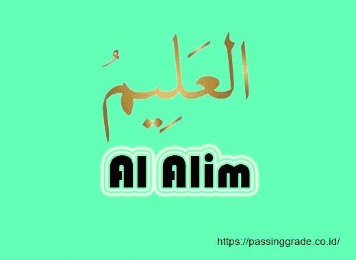 Al Alim Artinya