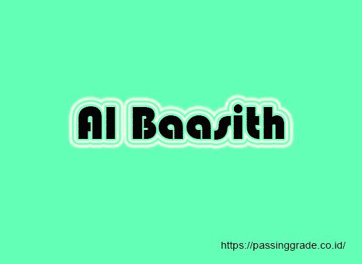 Al Baasith Artinya