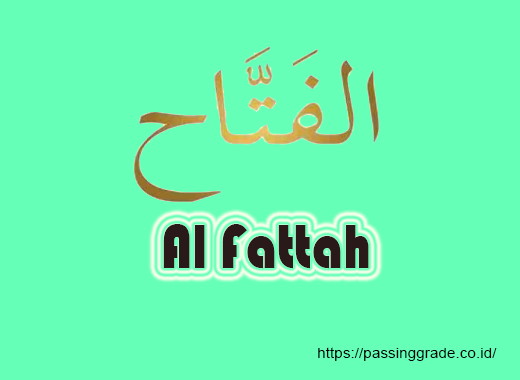 Al Fattah Artinya
