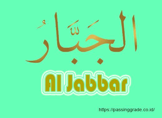 Al Jabbar Artinya