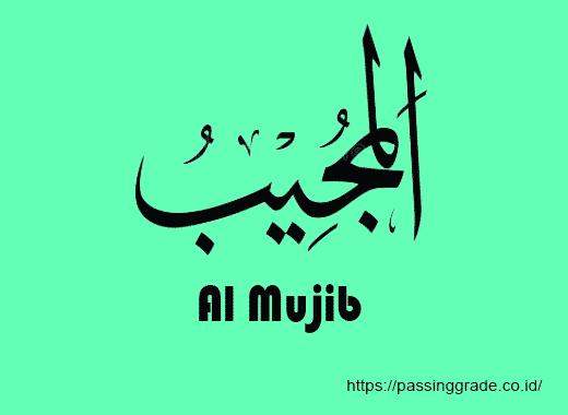Al Mujib Artinya
