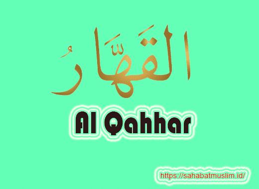 Al Qahhar Artinya
