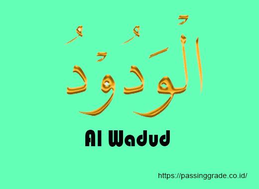 Al Wadud Artinya