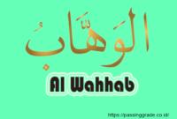 Al Wahhab Artinya
