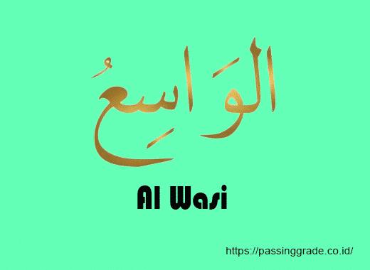 Al Wasi Artinya