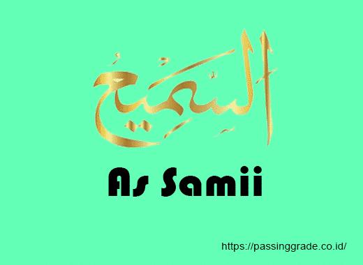 As Samii Artinya